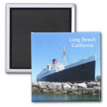 Great Long Beach Magnet! 2 Inch Square Magnet