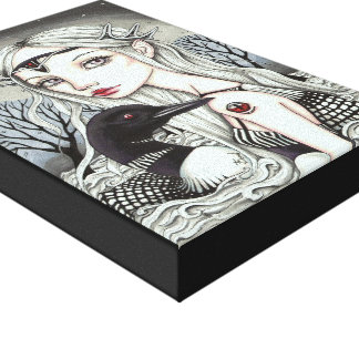 Great Loona Gallery Wrap Canvas