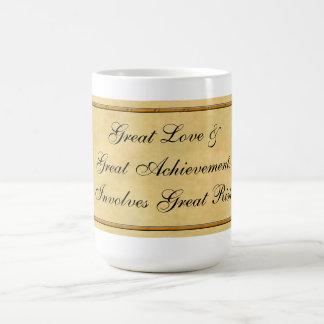 Great Love & Great Achievements Classic White Coffee Mug
