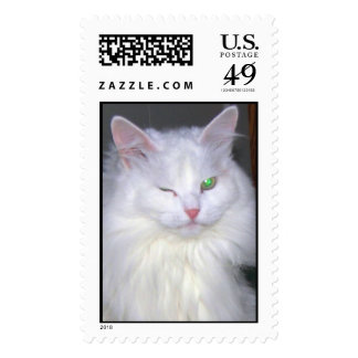 Great Lucky Cat Stamps