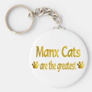 Great Manx Basic Round Button Keychain