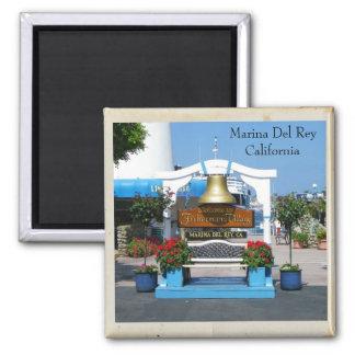 Great Marina Del Rey Magnet! Magnet
