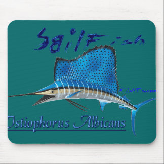 Great Marine Game Fish Mouse Mats