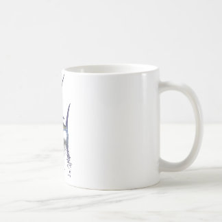 Great marlin with reflection in water coffee mug