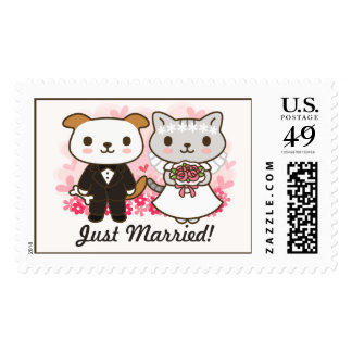 Great Marriage Postage Stamp