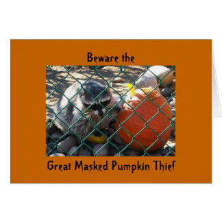 Great Masked Pumpkin Thief Card