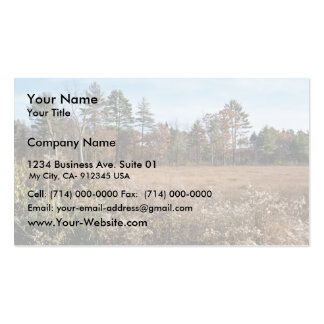 Great Meadows National Wildlife Refuge Double-Sided Standard Business Cards (Pack Of 100)