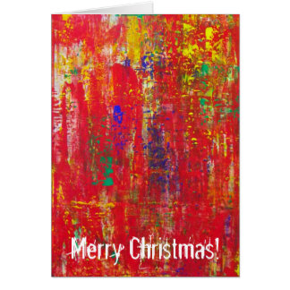 Great Merry Christmas Greeting Card! Card
