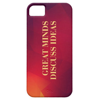 Great Minds Discuss Ideas iPhone 5/5S Case