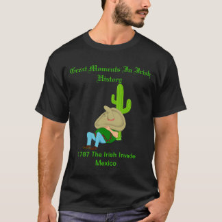 Great Moments In Irish History T-Shirt