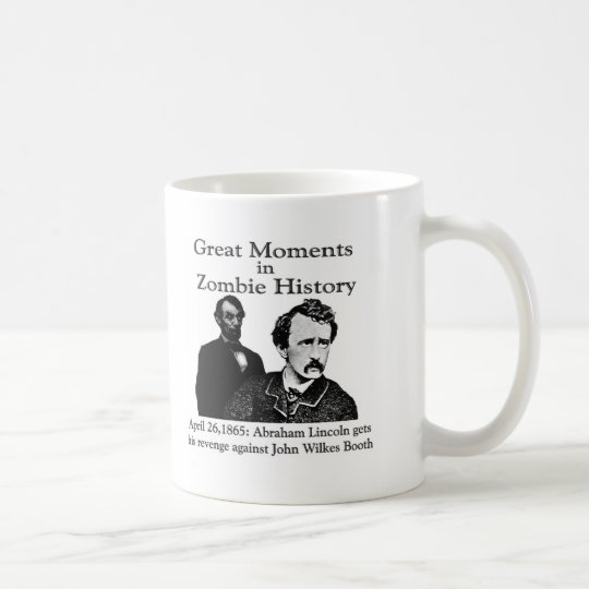 Great Moments in Zombie History Coffee Mug