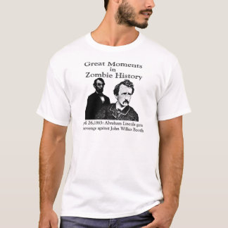 Great Moments in Zombie History T-Shirt