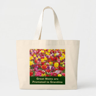 Great Moms are Promoted to Grandma Tote Bags