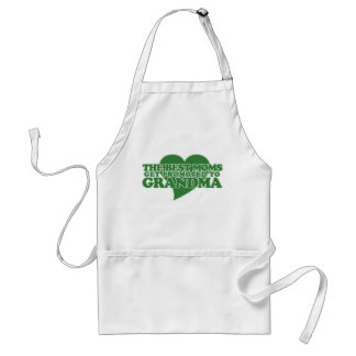 Great Moms get promoted to Grandma Adult Apron