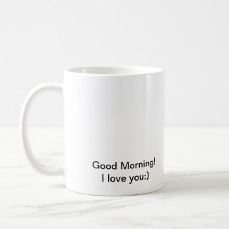 great morning! coffee mug