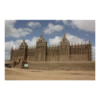 Great Mosque of Djenne Poster
