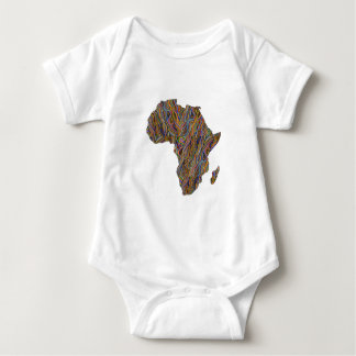 Great Mother Africa Baby Bodysuit