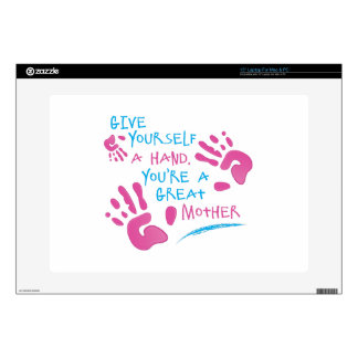 "Great Mother Decal For 15"" Laptop"
