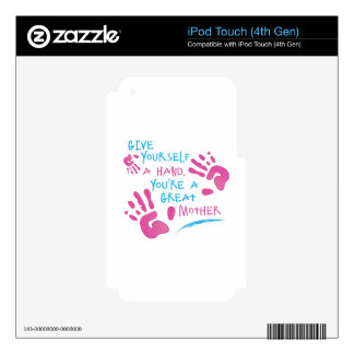Great Mother iPod Touch 4G Decals