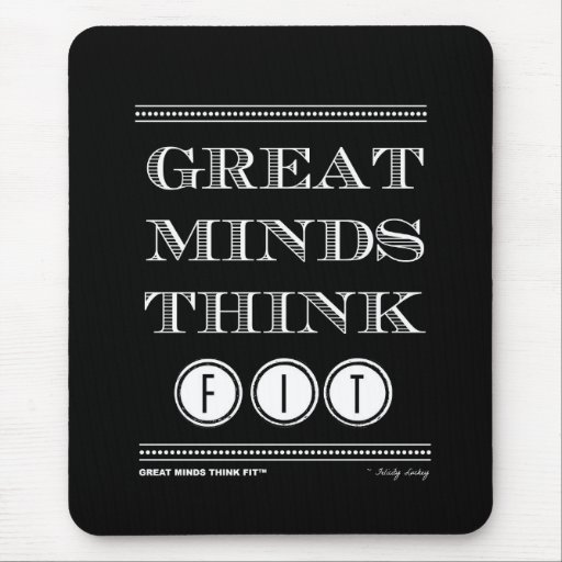 Great Mouse Pads Think Fit!