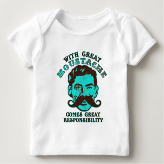 Great Moustache Baby T-Shirt