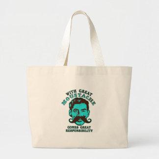 Great Moustache Canvas Bag