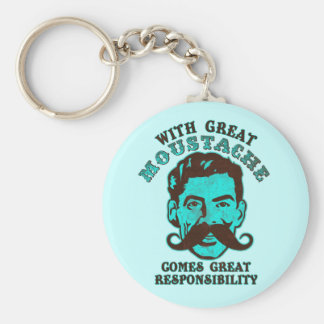 Great Moustache Key Chains