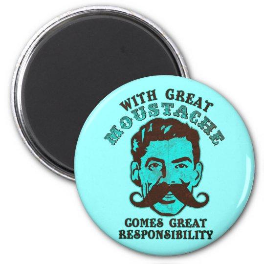 Great Moustache Magnet