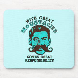 Great Moustache Mouse Pad