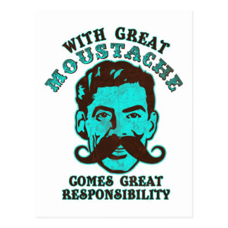 Great Moustache Post Cards