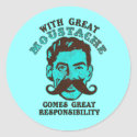Great Moustache Stickers