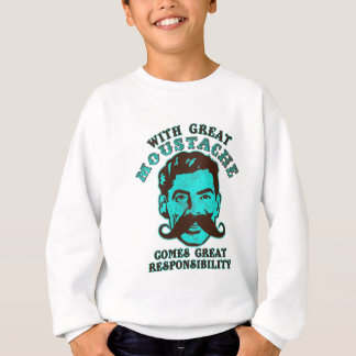 Great Moustache Sweatshirt