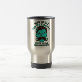 Great Moustache Travel Mug