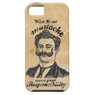 Great mustache iPhone 5 cases