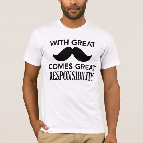 Great Mustache t_shirt for Fathers day