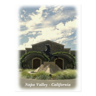 Great Napa Valley Postcard! Postcard