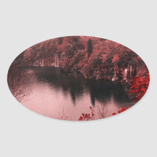 great nature oval sticker