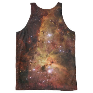 Great Nebula in Carina NGC 3372 All-Over Print Tank Top