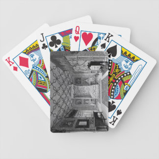 Great North Bed Chamber of Strawberry Hill (litho) Bicycle Playing Cards