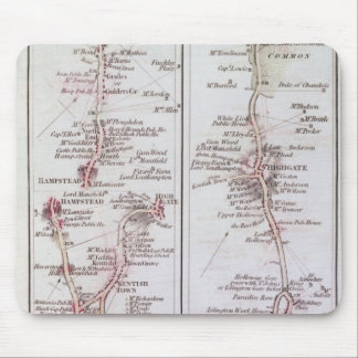 Great North Road out of London, 1st July 1790 Mouse Pad