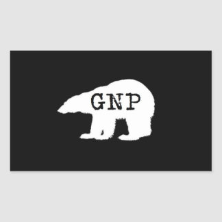 Great Northern Prepper Squar Sticker
