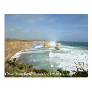 Great Ocean Road, Victoria, Australia Postcard