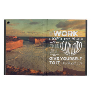 Great Ocean Road Your Work Discover World Heart iPad Air Cover