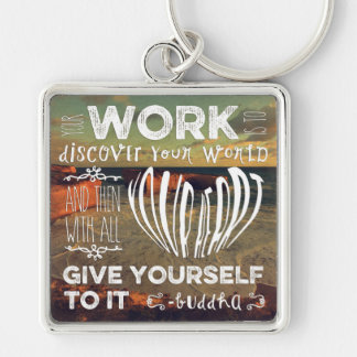 Great Ocean Road Your Work Discover World Heart Keychains
