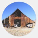 Great Old Barn Round Sticker