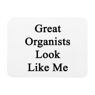 Great Organists Look Like Me Magnets