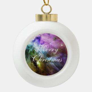 Great Orion Nebula Ceramic Ball Christmas Ornament