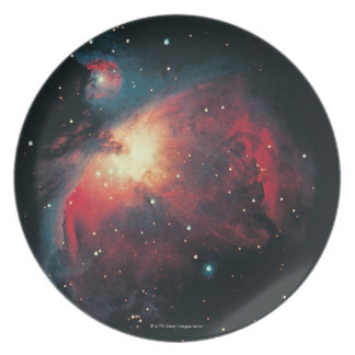 Great Orion Nebula Melamine Plate