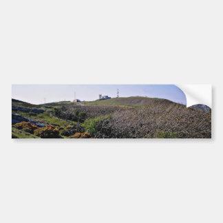 Great Orme County Park and summit, Llandudno, nort Car Bumper Sticker
