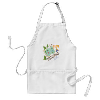 Great Outdoors Adult Apron